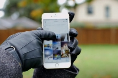 触控黑科技!戴手套也能解锁苹果Touch ID