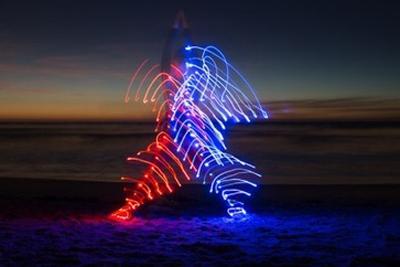 光与瑜伽的完美结合 看摄影师巧用延时摄影