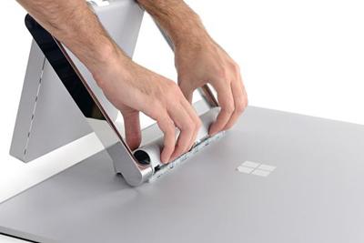 升级很简单 微软Surface Studio拆解