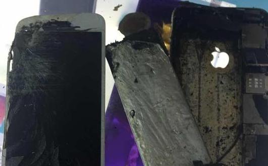 苹果iPhone 6系列也炸了?爆炸现场惨不忍睹