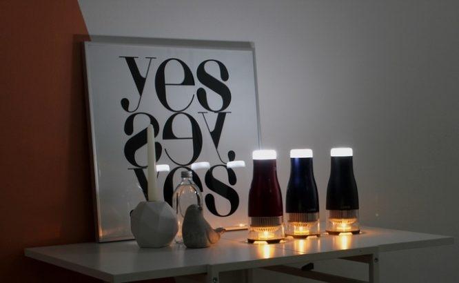 停电蜡烛还是用台灯?这有个用蜡烛驱动的台灯