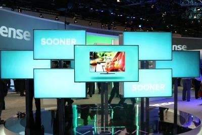 夏普面板断供三星或推高65英寸电视面板需求