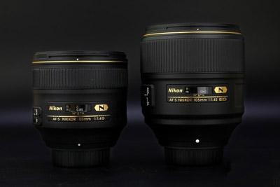 谁是人像镜皇 尼康105mm f/1.4与85mm对比