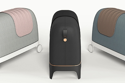 像马一样骑 奇葩设计的新式家用取暖器