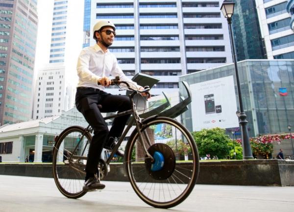 买不起特斯拉 我用它把自行车改装成了电动车