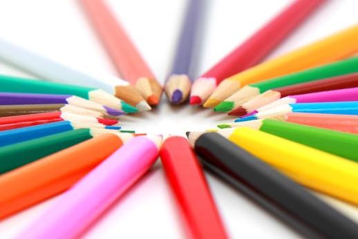 去他的功课 手工党把彩色铅笔做成了戒指
