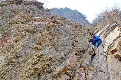 四川青川深藏罕见地质遗迹 记录2.5亿年前生物灭绝