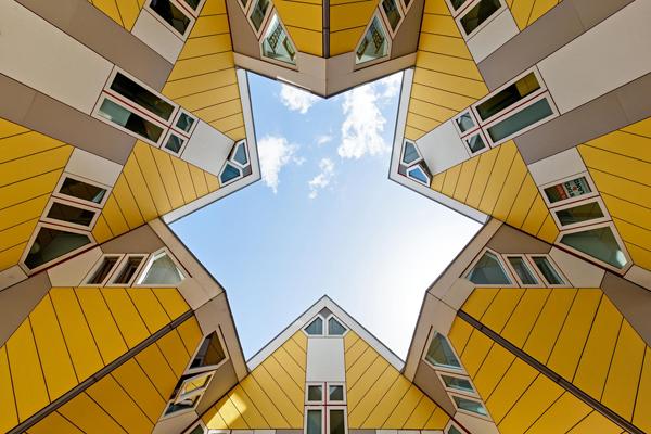 筑色谐构 简而不凡的唯美几何建筑