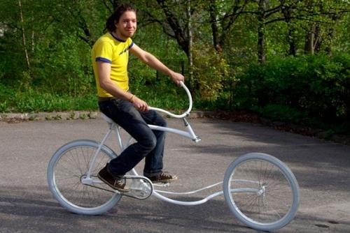 改装达人操刀 盘点那些未来范儿的奇葩自行车