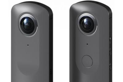 理光展示新款Theta 360°全景相机