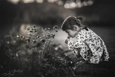 要萌也要文艺 黑白儿童摄影拍摄与后期详解