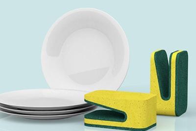 成倍提高效率 新式家用神器洗碗巾