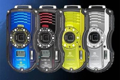 理光新款三防卡片机WG-50外观照曝光