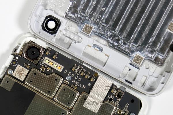 魅蓝E2拆机 原来4-LED闪光灯是这样的