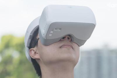 大疆飞行眼镜测评:除了飞行 竟然还能看电影?