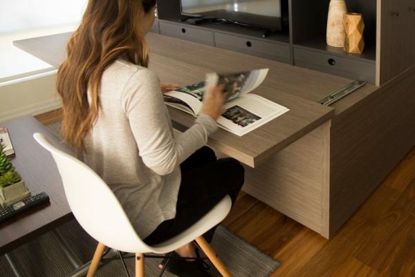客厅自动变卧室 这是一款能听懂你命令的房子