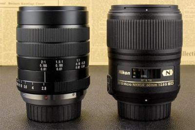 国产微距行不行? 老蛙与尼康60mm F2.8镜头对比