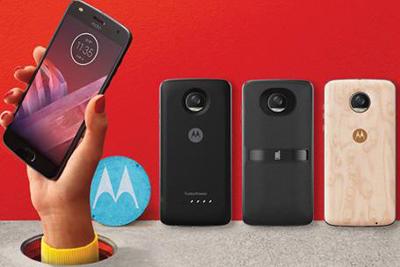 Moto推变形金刚5智能模块 众明星助力Z2 Play发布会