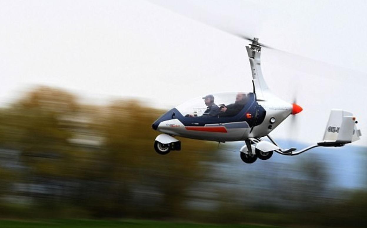 世界首个合法授权的双人飞行汽车GyroDrive已上路