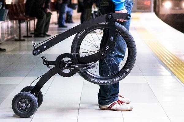 站立式自行车 骑行健身它真的做到了