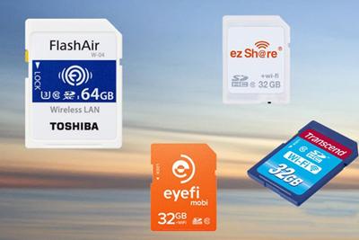 无线分享是王道!盘点值得购买的WiFi SD卡