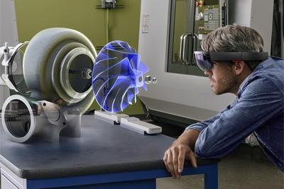微软为HoloLens研发AI芯片 翻译500万篇文章仅0.1秒