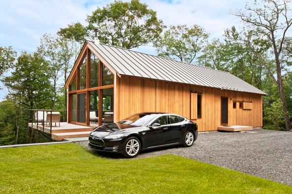 太阳能解决所有问题 特斯拉真的开始造房子啦