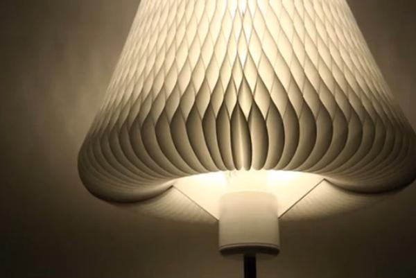"""会""""开花""""的智能台灯 让房间更有艺术气息"""