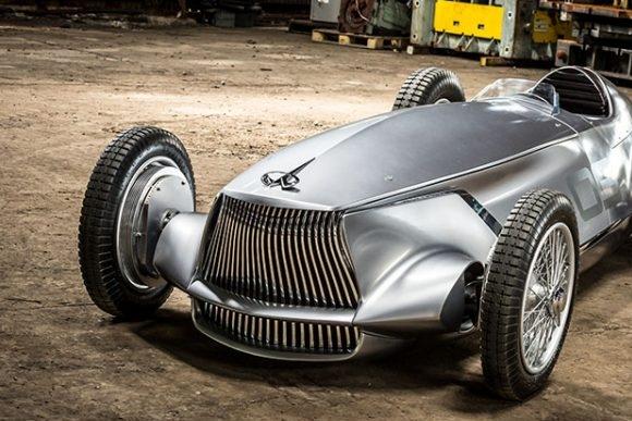 英菲尼迪发布纯电动复古概念车Prototype 9
