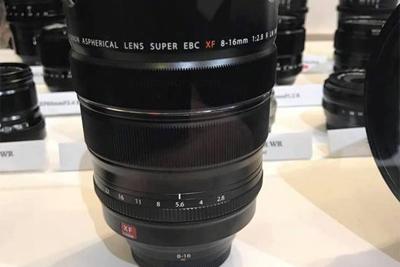 富士新款XF 8-16mm F2.8镜头或于2018年中旬上市
