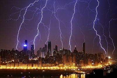 雷电伤人与空气质量有关?专家:雾霾或是祸因之一