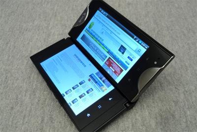 中兴可折叠双屏手机Axon曝光:10月份上市