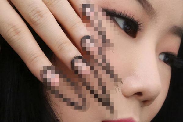 人不可能被指甲吓死 除非看到了这韩国人的指甲