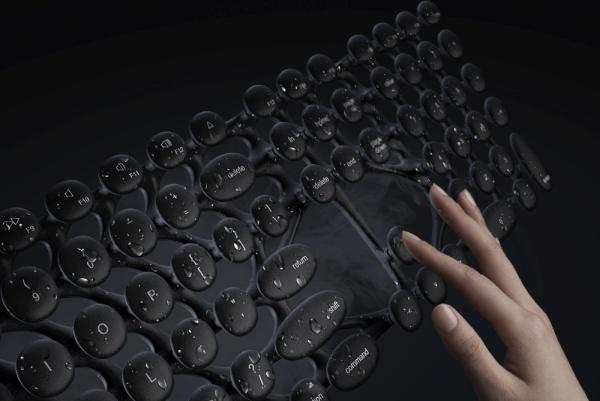 键盘比马桶还脏?这款仿生学键盘用水洗洗就好