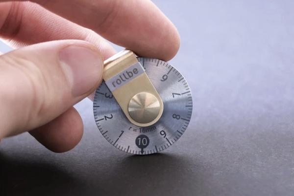 这把圆形尺子 能测量任何规则不规则的物体