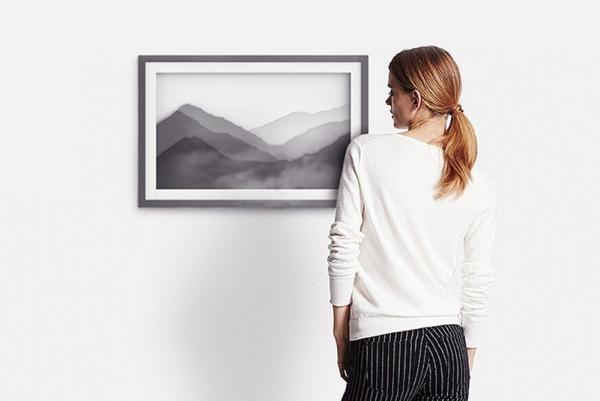 这款画框加湿器美如水墨画 堪称室内氛围杀手