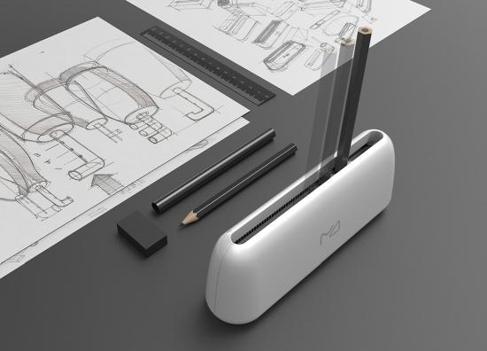 推拉式卷笔刀:一样的铅笔 不一样的削法