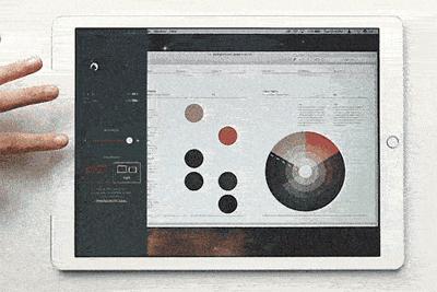 如何将iPad前置摄像头变成一个按钮?