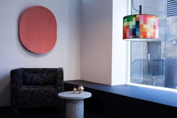 挂在墙壁上的音响 从视觉到听觉的艺术盛宴!