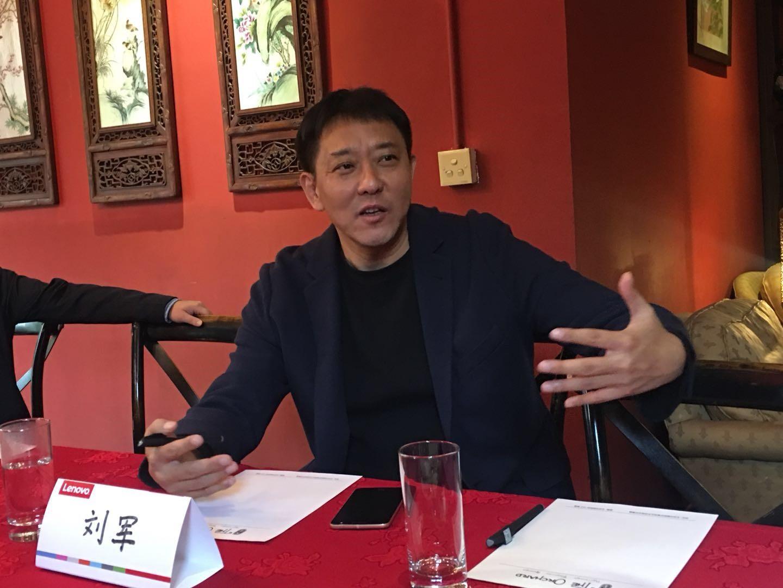 新浪科技采访刘军
