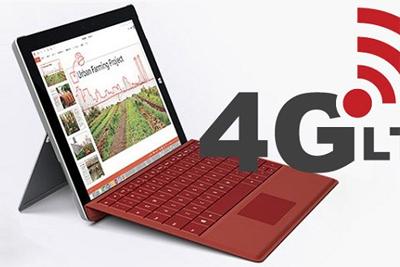 再也不怕没WIFI 微软给你能4G上网的Surface Pro LTE