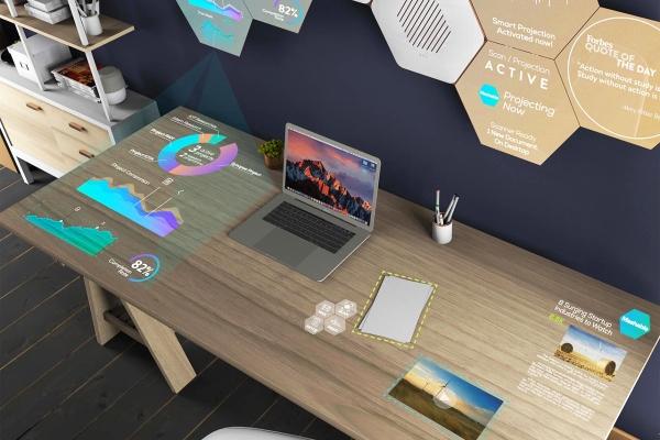 科幻片成为现实 如此智能的办公桌面你见过吗