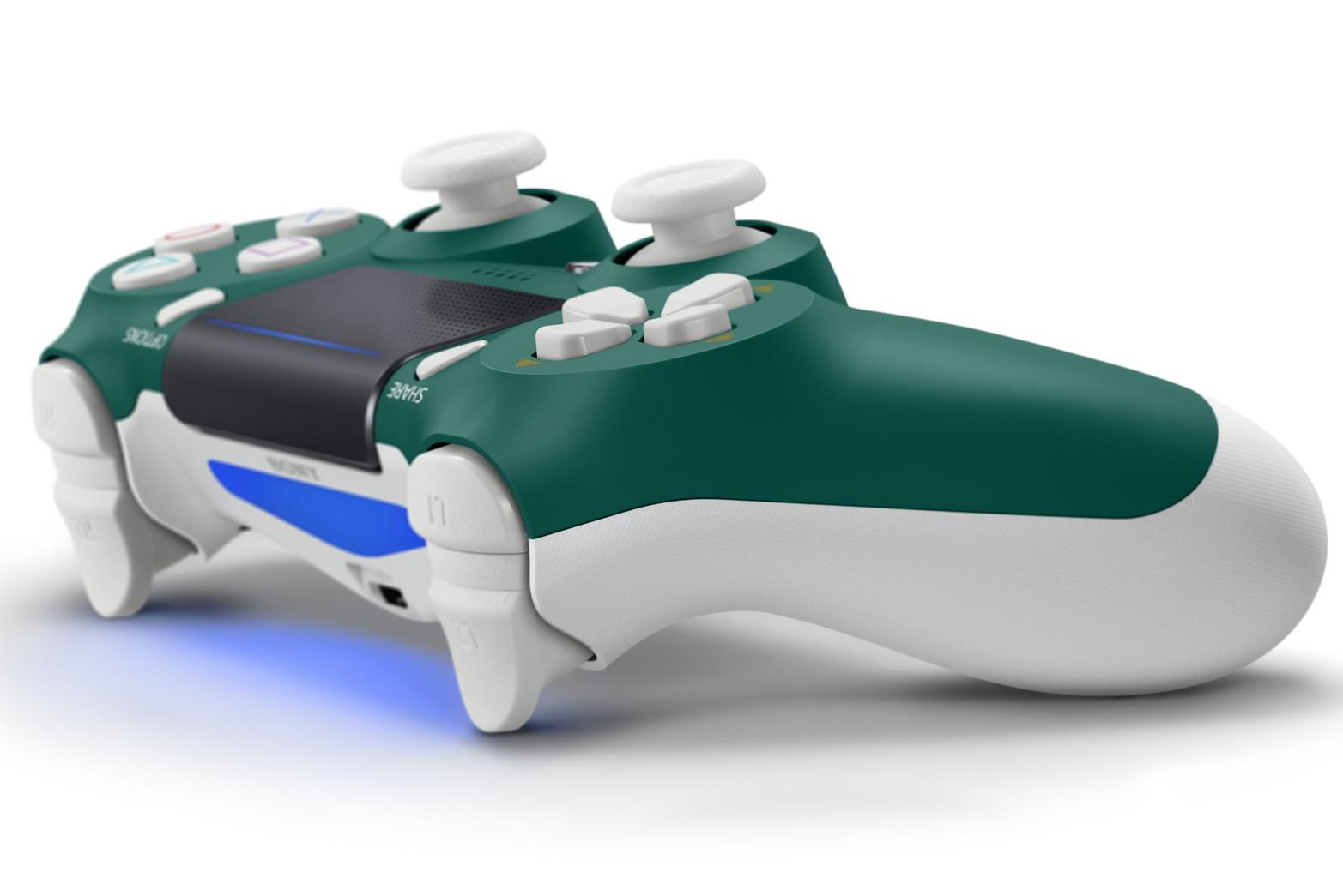 索尼又为PS4手柄带来了新配色 这次是高山绿