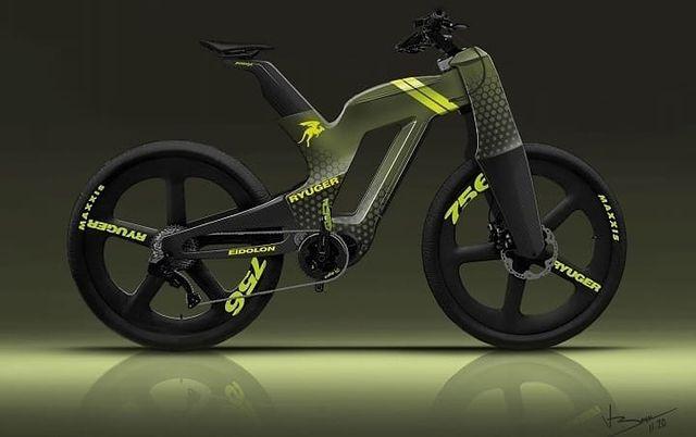 总重仅19公斤的电动自行车