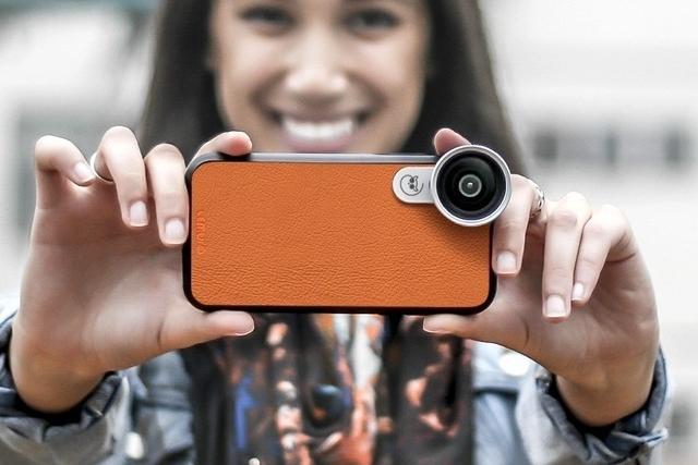 让你的iPhone像单反一样换镜头的神器