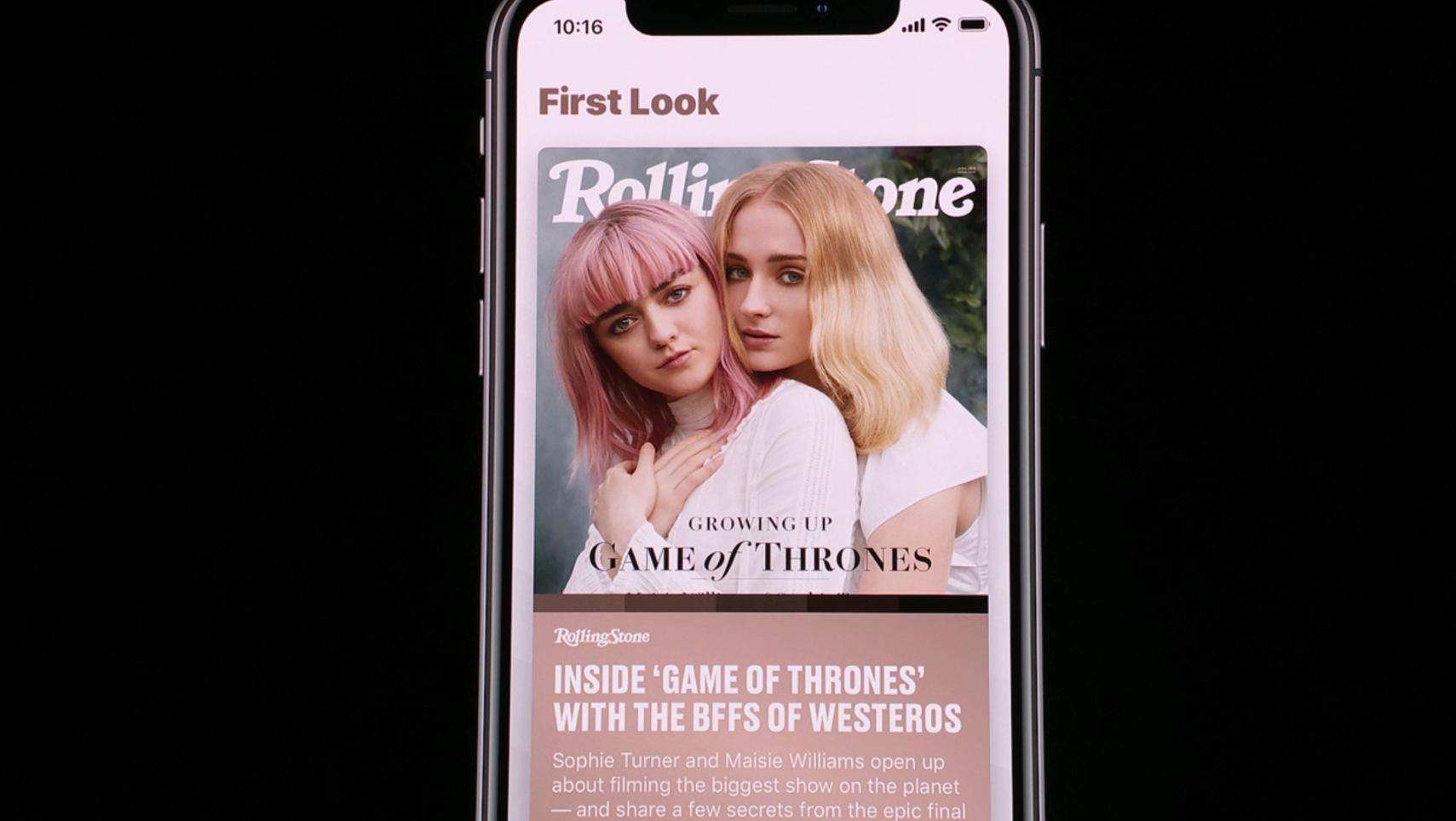 苹果推出新闻服务:强调个性化推荐 排版摄影