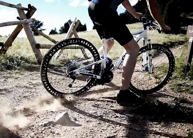 新型自行车轮胎:无气设计 再也不用担心爆胎