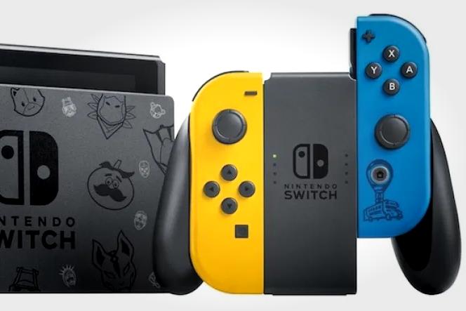 任天堂推出《堡垒之夜》限定Switch主机