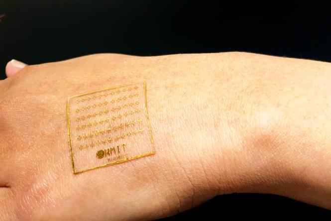 黑科技續航!這款電子皮膚可用于腦機接口和電動汽車