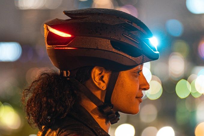 单车头盔有了转向灯 支持Apple Watch手势操作